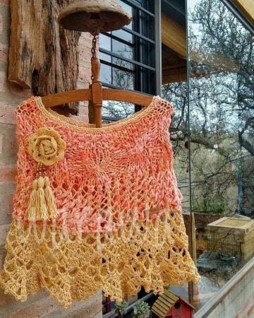modelos de chales tejidos a mano
