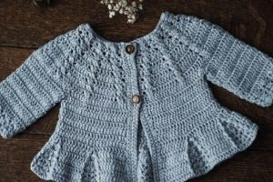 Chambritas tejidas a crochet para bebe 1 año a 2