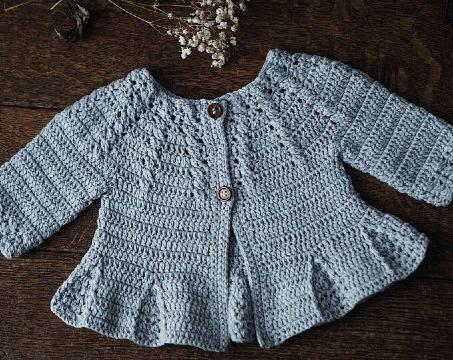 modelos de chambritas tejidas a crochet