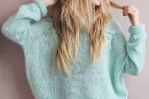 Geniales modelos de chompas tejidas invierno 2019