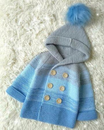 modelos de saquitos tejidos para bebe