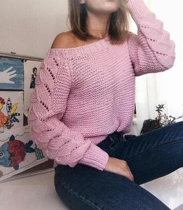 modelos de sweaters tejidos a crochet