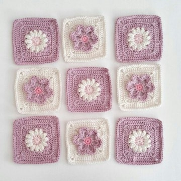 muestras de ganchillo para colchas de bebe