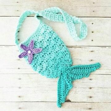 originales carteras tejidas a crochet para niña