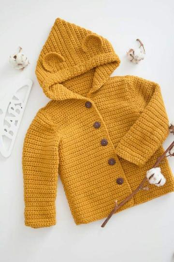 saquitos tejidos para bebe patrones