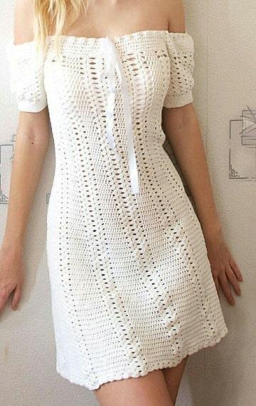 vestidos a crochet para mujer patrones