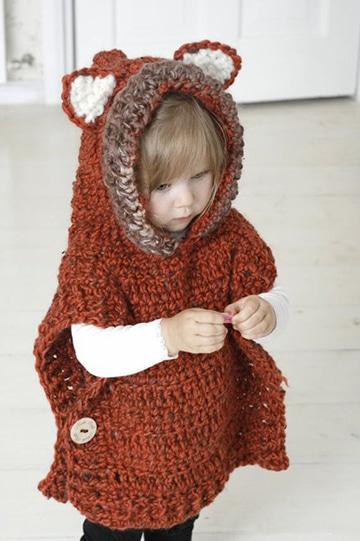 chompas tejidas para niñas y niños
