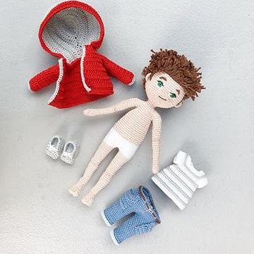 como hacer muñecas tejidas a mano