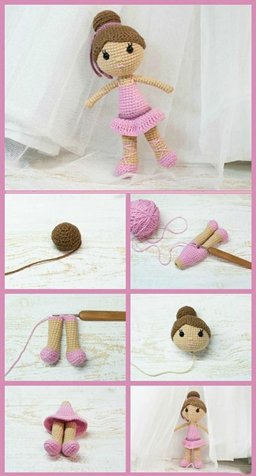 como hacer muñecas tejidas paso a paso