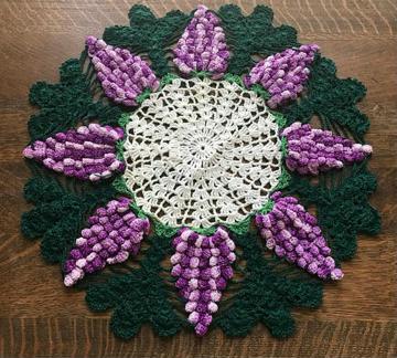 como hacer tapetes a crochet redondo