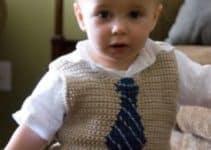 5 sencillos pasos de como tejer un chaleco para niño