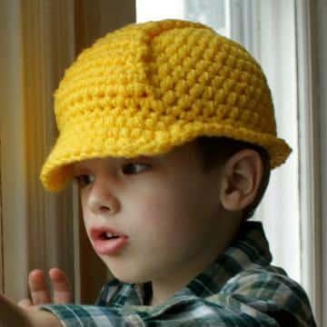 gorros tejidos para niños varon divertido