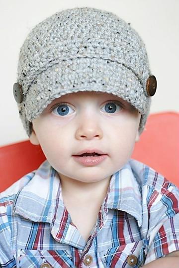 gorros tejidos para niños varon paso a paso