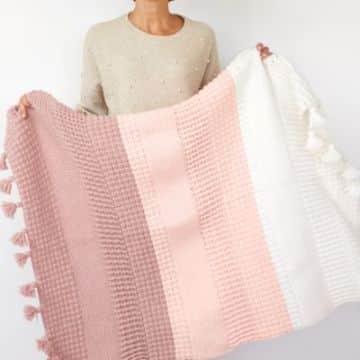 modelos de colchas a crochet en 2019