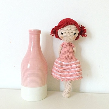 muñecas tejidas a crochet paso a paso