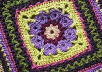 6 puntos adecuados para pastillas a crochet cuadradas