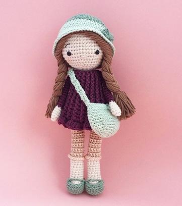 patrones de muñecas tejidas a crochet
