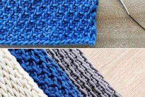 Como hacer 4 puntos tejidos a crochet paso a paso