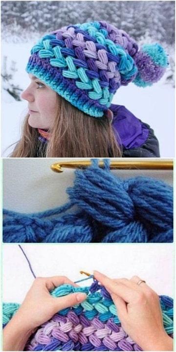 Como hacer gorros a crochet paso a paso