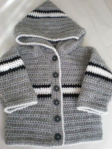 chompas de lana para niños tutorial