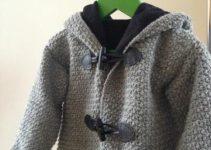 4 diseños de chompas de lana para niños de diferente edad