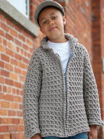 como hacer chompas de lana para niños