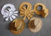 4 ideas creativas para saber como hacer un sombrero