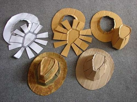 como hacer un sombrero molde