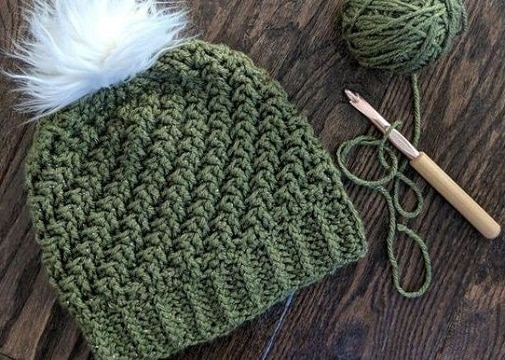 gorros a crochet paso a paso para mujeres
