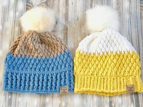 gorros a crochet paso a paso patrones