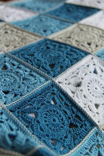 imagenes de muestras de colchas a crochet