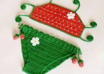 Diseños de trajes de baño para niñas de 1 a 3 años