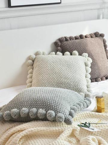 moldes para cojines a crochet cuadrados