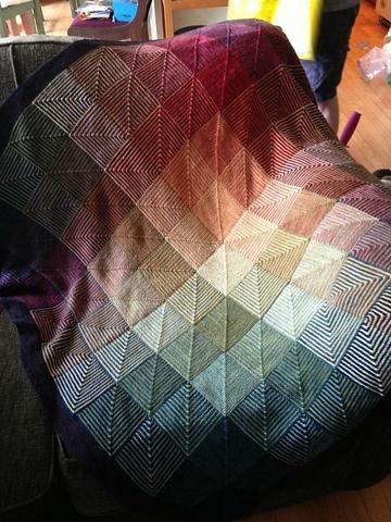 muestras de colchas a crochet a colores