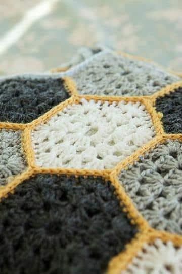 muestras de colchas a crochet patrones