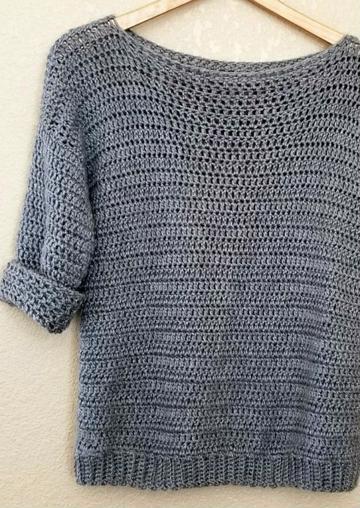 polos tejidos a crochet juveniles