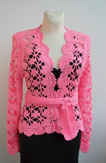 polos tejidos a crochet para mujeres
