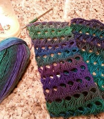 puntos calados a crochet nuevos