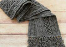 3 modernos puntos para tejer chalinas y bufandas