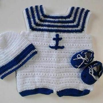 ropones para bebes tejidos de niño
