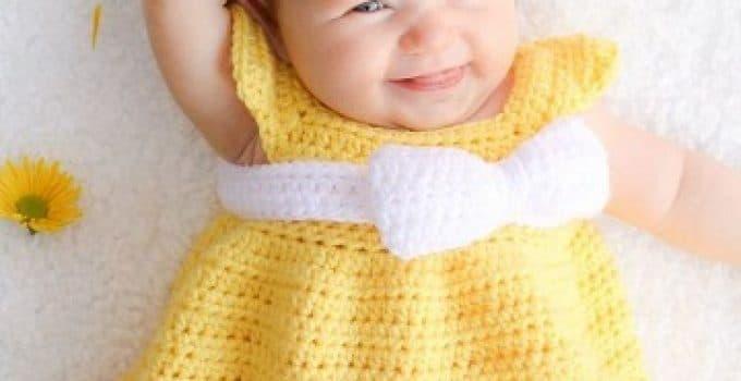 Colores Paso Vestidos Para 6yvi7mbyfg Bebe Tejidos En 4 A