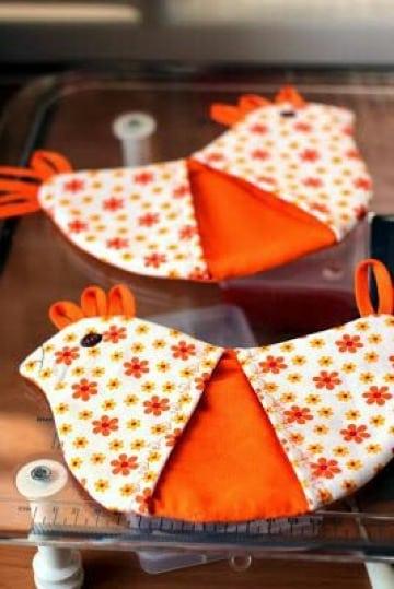 agarraderas de tela para cocina faciles de hacer