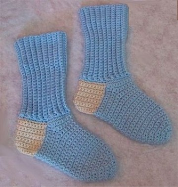 calcetines de lana para niños faciles de hacer