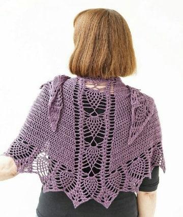 capas tejidas a crochet para mujeres