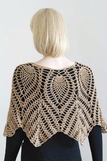 capas tejidas a crochet sencillas