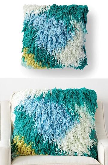cojines tejidos a crochet paso a paso
