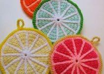 3 sencillos pasos en agarraderas de ollas tejidas a crochet