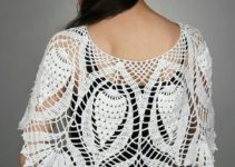 3 diseños y estilos de capas tejidas a crochet
