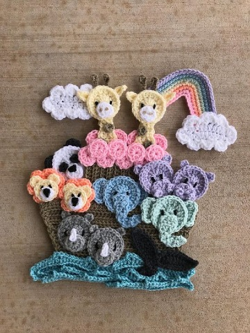 como hacer figuras tejidas a crochet