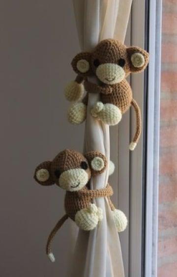 como hacer monitos tejidos crochet